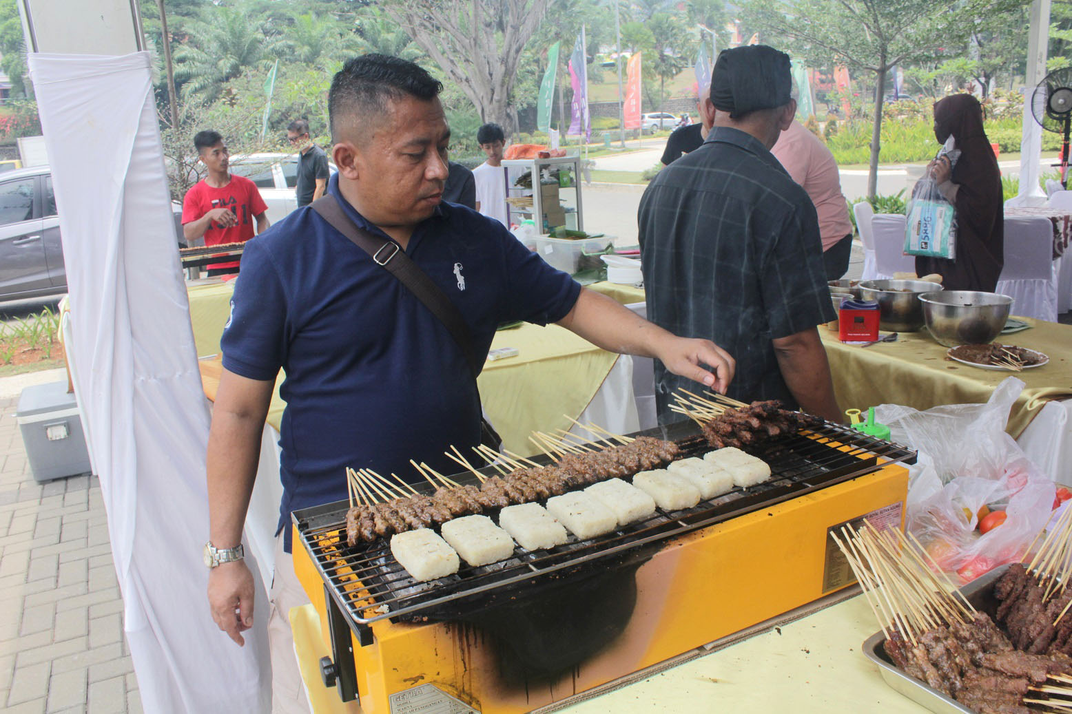 Preserving Indonesia's Culture, Opus Park Apartment Held Nusantara Satai Festival