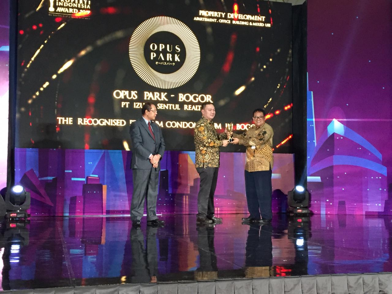 Opus Park Apartment won the Indonesia Property Award (PIA) 2019